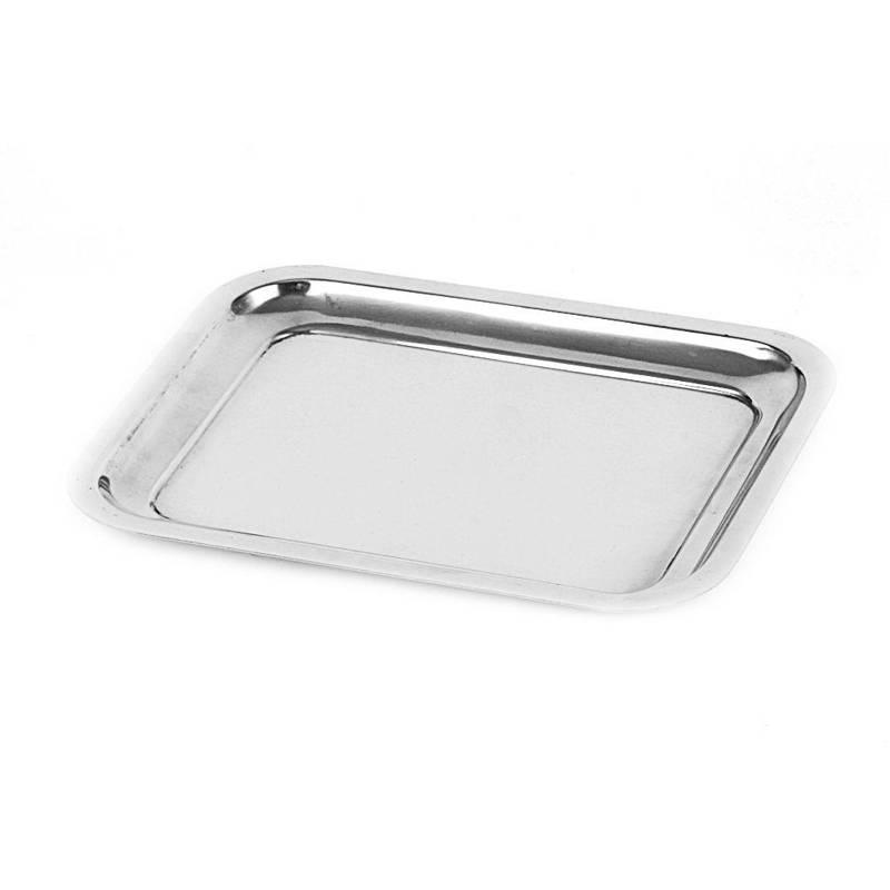 Taca do serwowania stalowa / talerz 21x16 cm