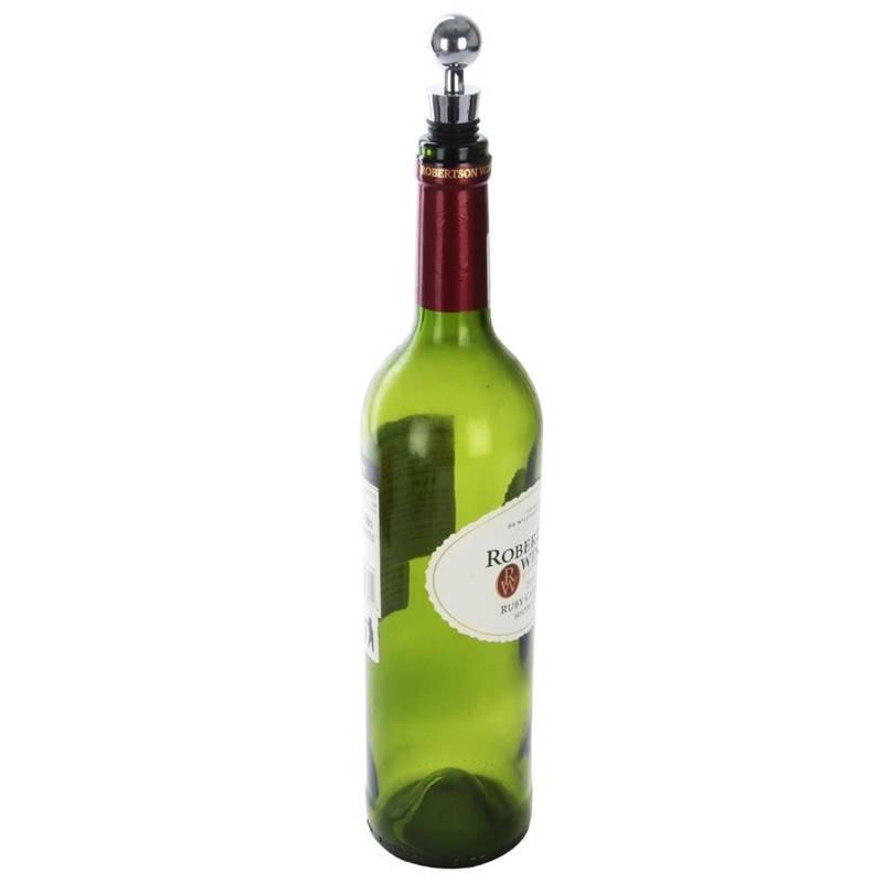 Zatyczka / korek do wina butelek nierdzewny 2 szt