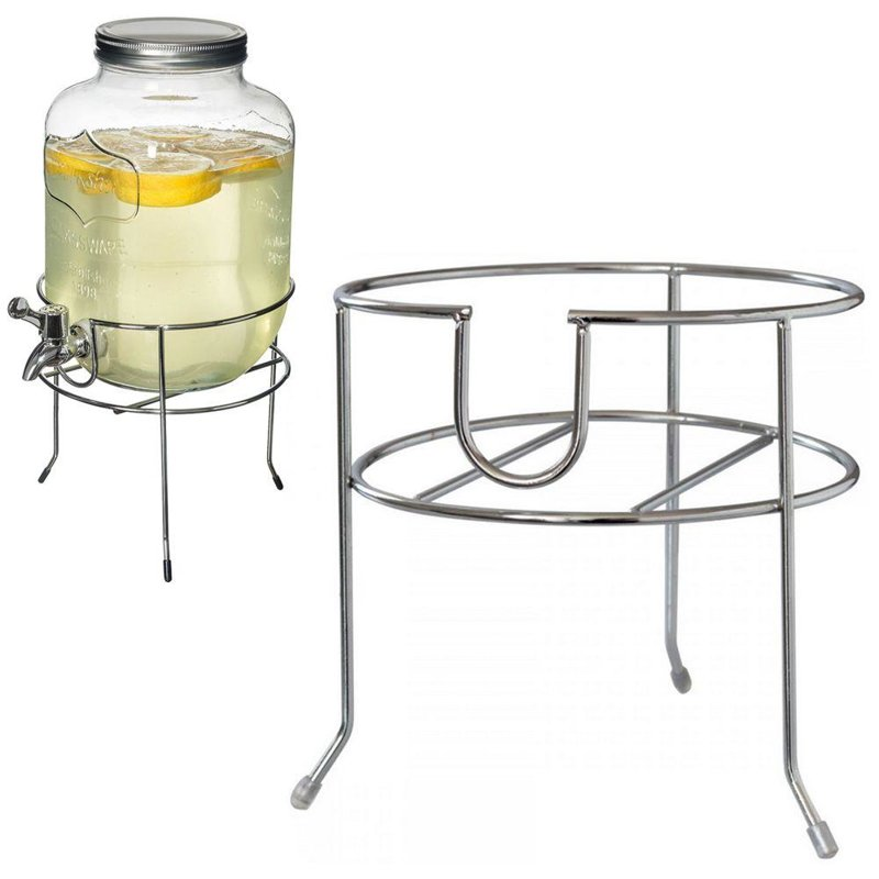 Bază, suport pentru borcane, dozator de sticlă cu robinet, robinet pentru băuturi
